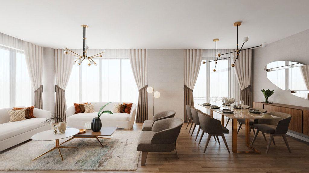 Puertas abiertas: apartamentos Radisson Residences Vadistanbul en Turquía  #deco #inspiración