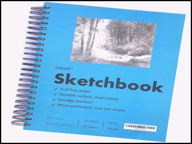 New Multimedia Sketchbook Best Drawing Book