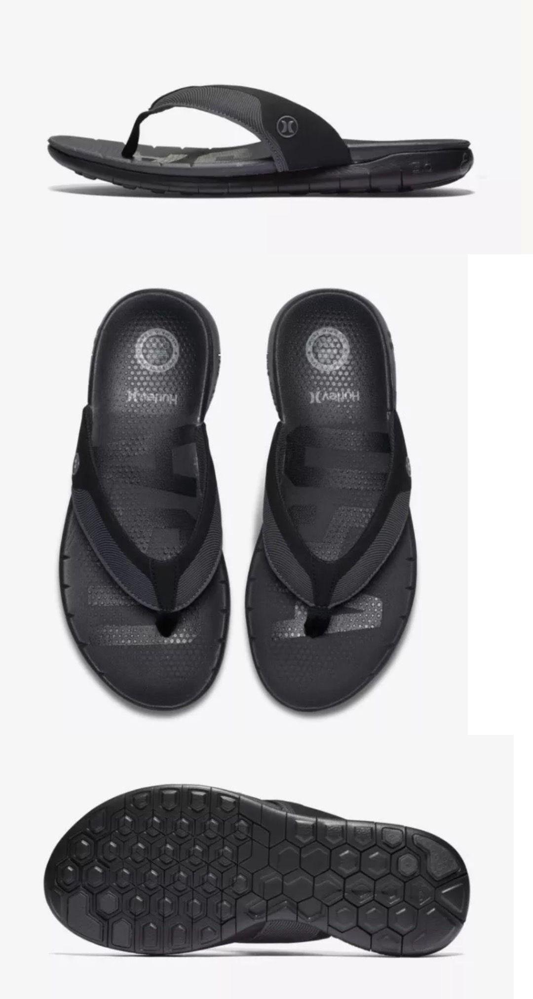 35ec49c4f37 Sandals and Flip Flops 11504  Men S Hurley Nike  70 Phantom Free Team Usa  Black Flip Flop Sandals - Size 12 -  BUY IT NOW ONLY   32.95 on eBay!