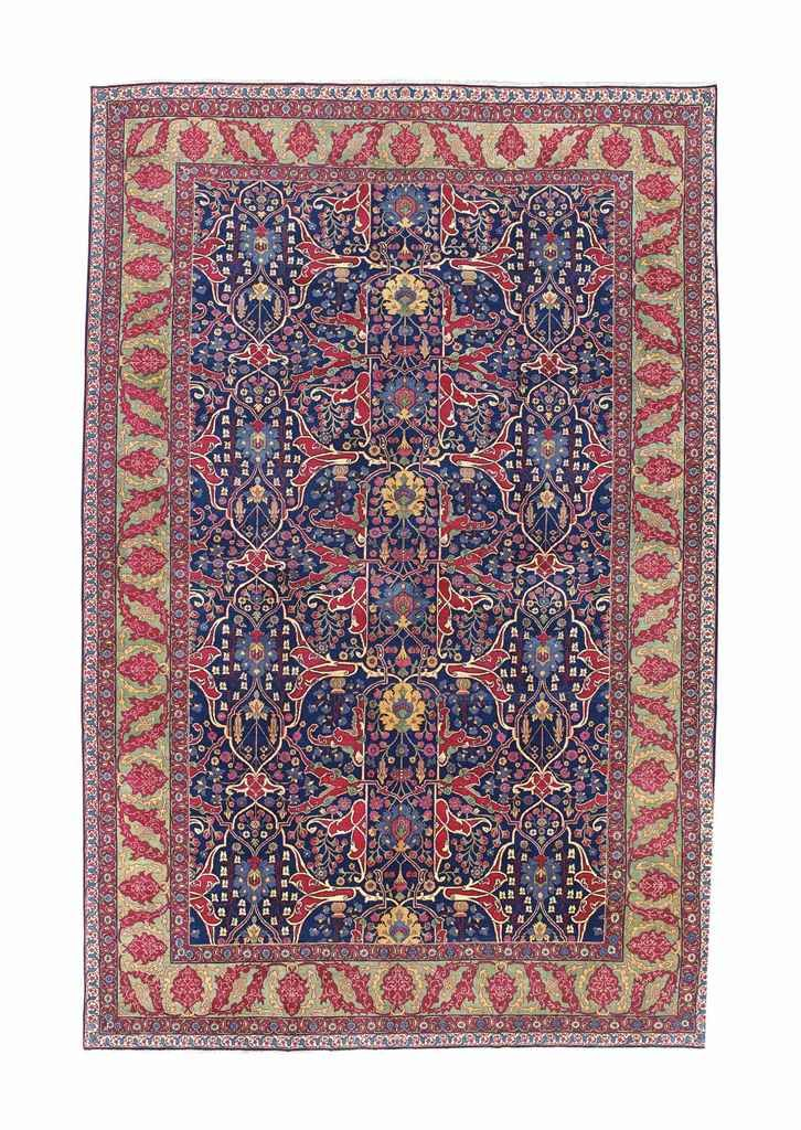 Tabriz Carpet North West Persia Circa 1920 16ft 5in X 10ft 9in 498cm X 326cm Carpet Persia Tabriz Rug