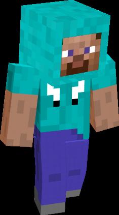 Minecraft Steve Hoodie Minecraft Steve Minecraft Minecraft Skin