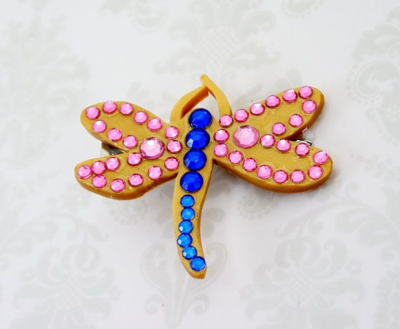 Coraline Dragonfly Barrette Gold Pink Blue Costume Etsy Coraline Coraline Halloween Costume Blue Costumes