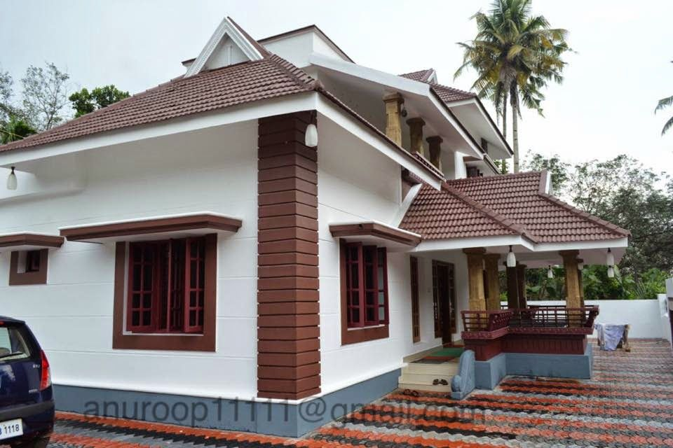 Kerala veedu design by a r design and build 3d interior for Kerala veedu design