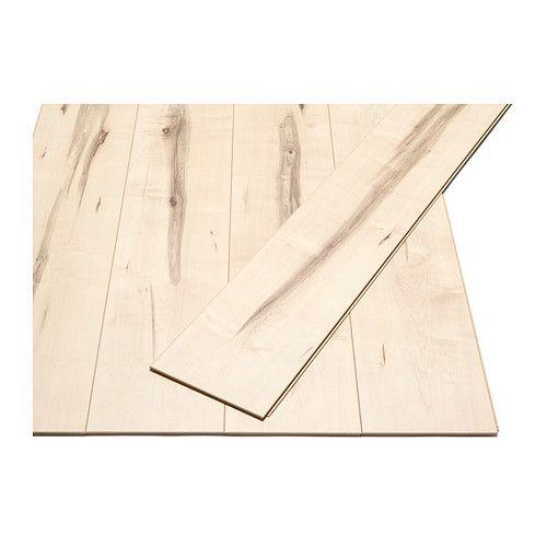 Pr rie pavimento in laminato effetto acero un tes and - Pavimento laminato ikea ...