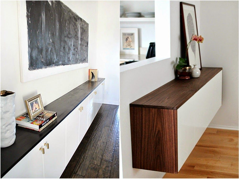 Ikea Birch Credenza : Fauxdenza credenza bonanza final choices for remodel