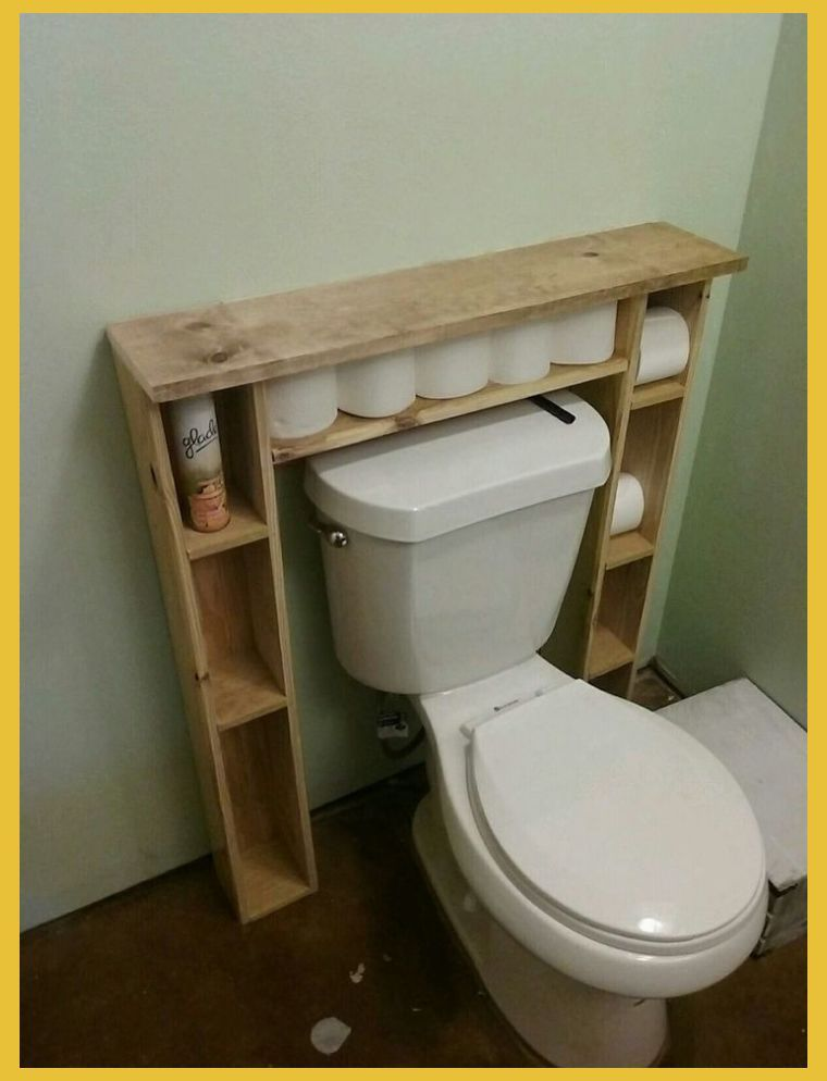 Maybe Add Some Doors To Hide My Lady Things Pallet Crafts