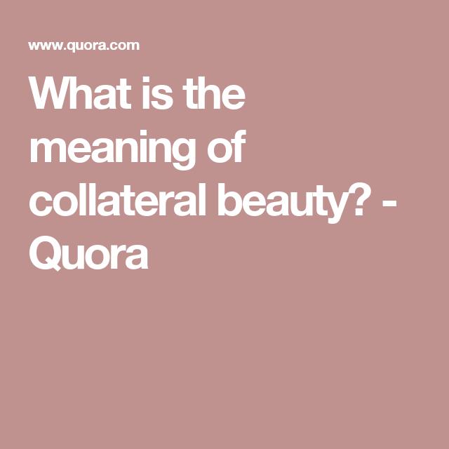 50+ グレア Collateral Beauty Meaning - さのばりも