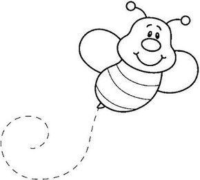 Dibujo Infantil Abeja Paginas Para Colorear Dibujos Para
