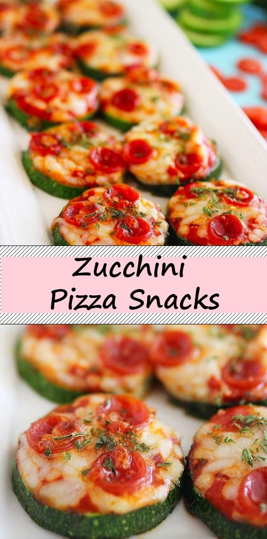 Photo of Zucchini Pizza Snacks