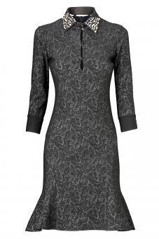 anaalcazar evening dress odelian  kleider mode kleid mit ärmel