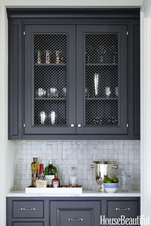 Dark Grey Kitchen Cupboards