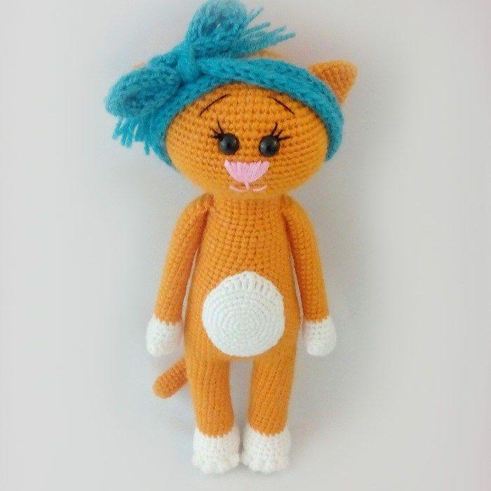 patrones amigurumi crochet libre del gato | Amigurumis!! | Pinterest ...