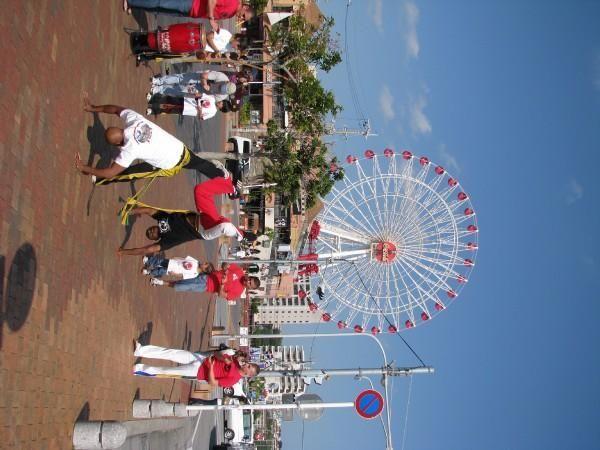 Ah Capoeira on the Beautiful Isle of Okinawa! Circa 2008ish...
