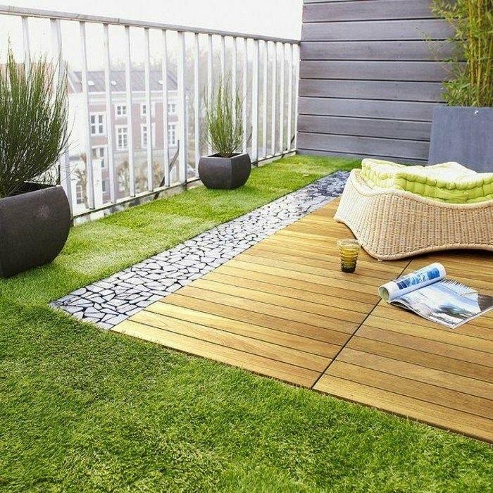 GroBartig Mein Schöner Garten Holz Bodenbelag Auf Dem Balkon