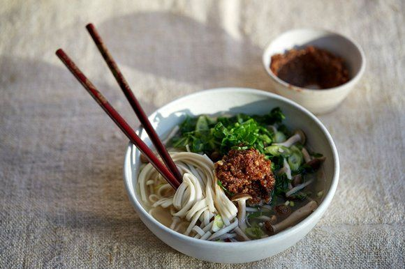Anna Jones' walnut miso broth with udon noodles | The Sunday Times