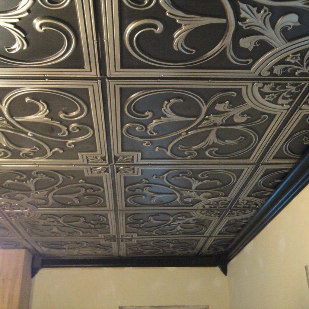 Plastic Decorative Ceiling Tiles Replacing Interior Ceiling Sounds Like A Major Venture Unless You