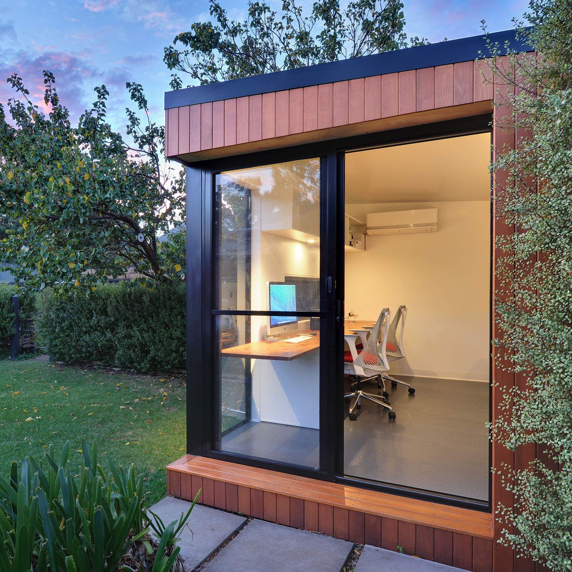 The Perfect Modular Backyard Office Pod