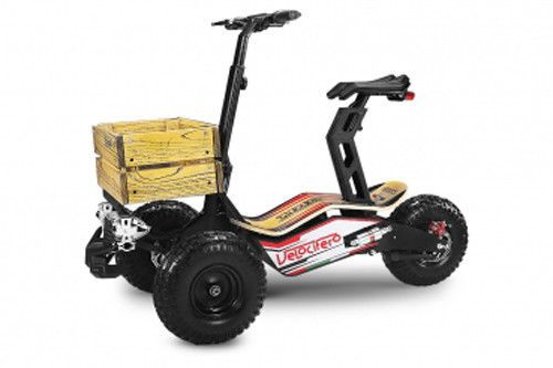 2000w 60v mad truck elektro scooter 6 zoll velocifero. Black Bedroom Furniture Sets. Home Design Ideas