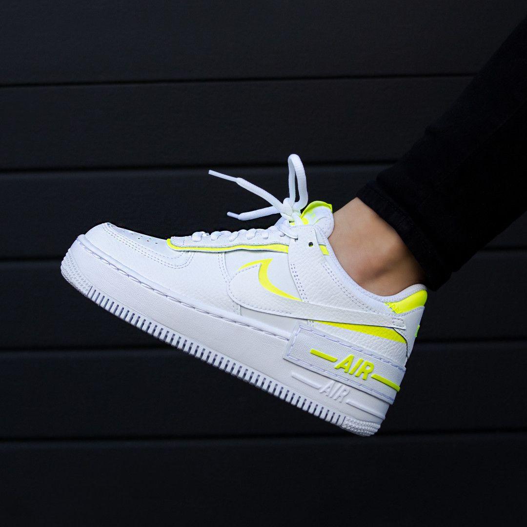 Nike air force 1 w shadow whitelemon venomwhite | ci0919