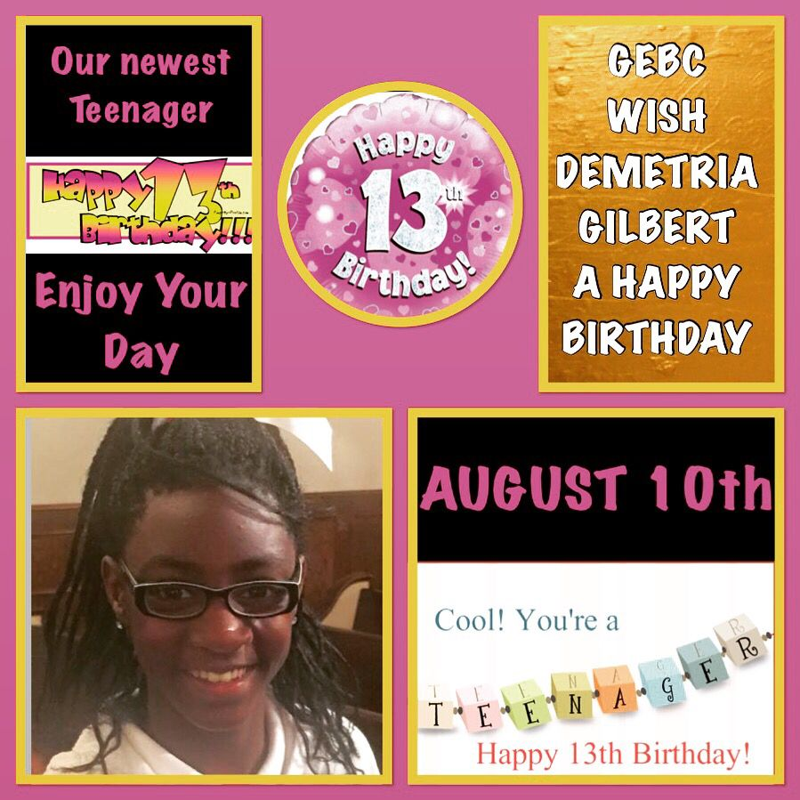Happy 13th Birthday, Friend Birthday