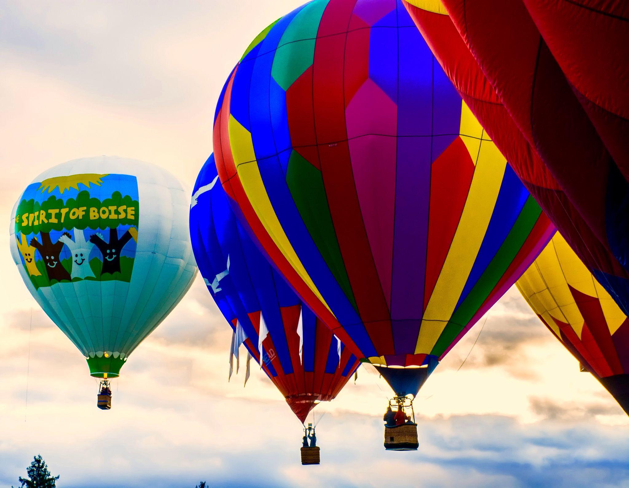 Boise Idaho balloon festival