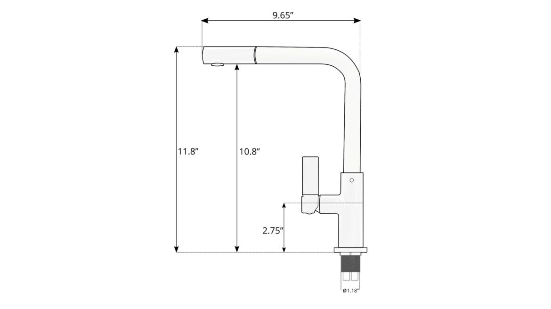 Lavello 400 Sizes In 2020 Chrome Kitchen Faucet Modern Kitchen Faucet Pull Out Kitchen Faucet