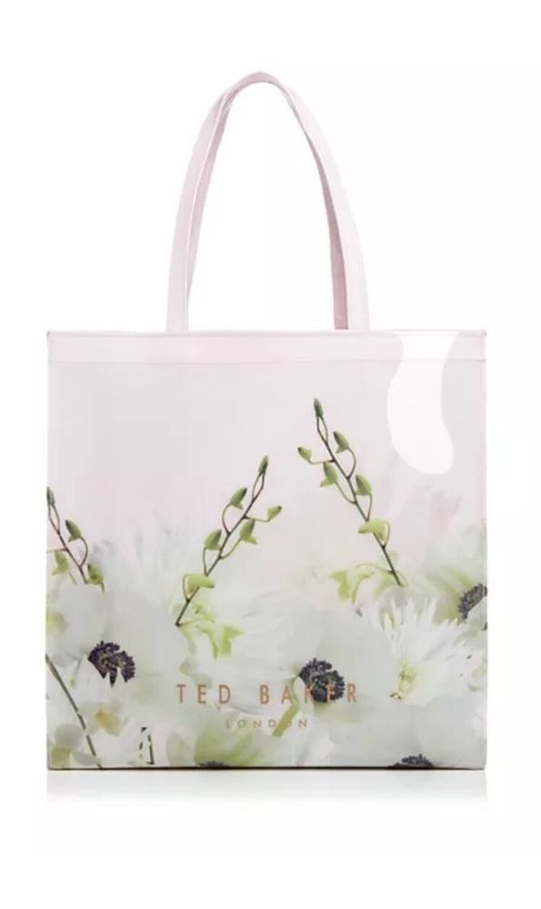 decdac4549e4 New Ted Baker Pearly Petal Large Icon DUSKY PINK Tote Bag  TedBaker   TotesShoppers