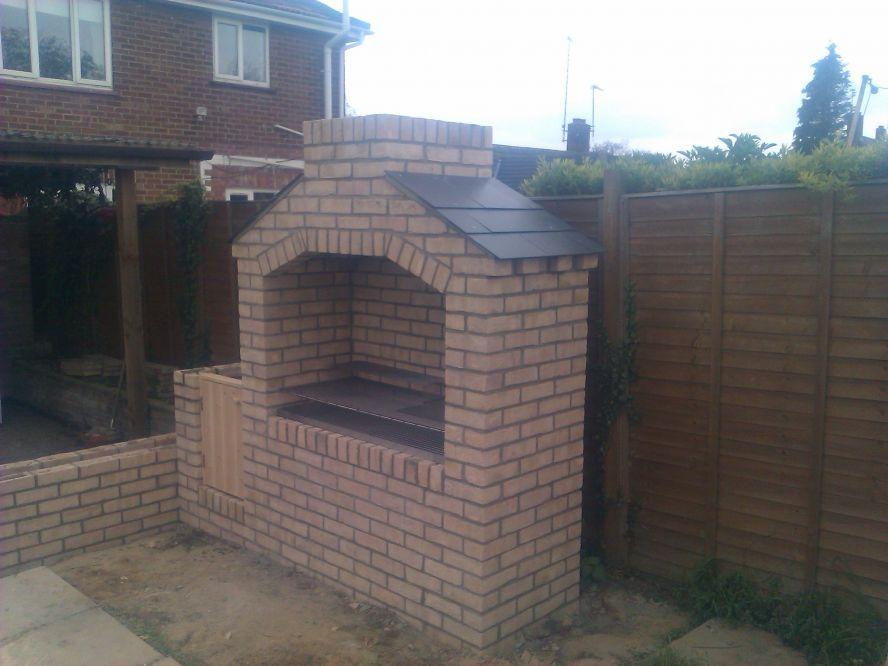 Brick bbq pit designs wonderful brick bbq pit designs bbq pinterest brick bbq bricks and - Building an outdoor brick barbecue ...