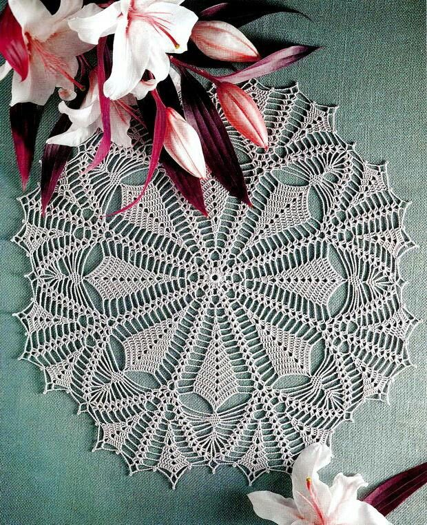 Pin By Just Dee On Crochet Doilies Round Pinterest Crochet