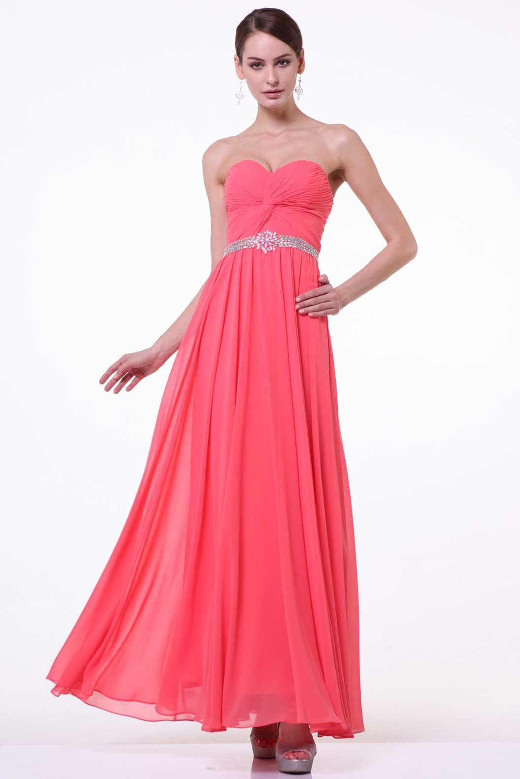 Bridesmaid strapless dress cdcj products pinterest strapless