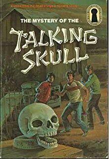 """The Mystery Of The Talking Skull""  ***  Robert Arthur  (1969)"