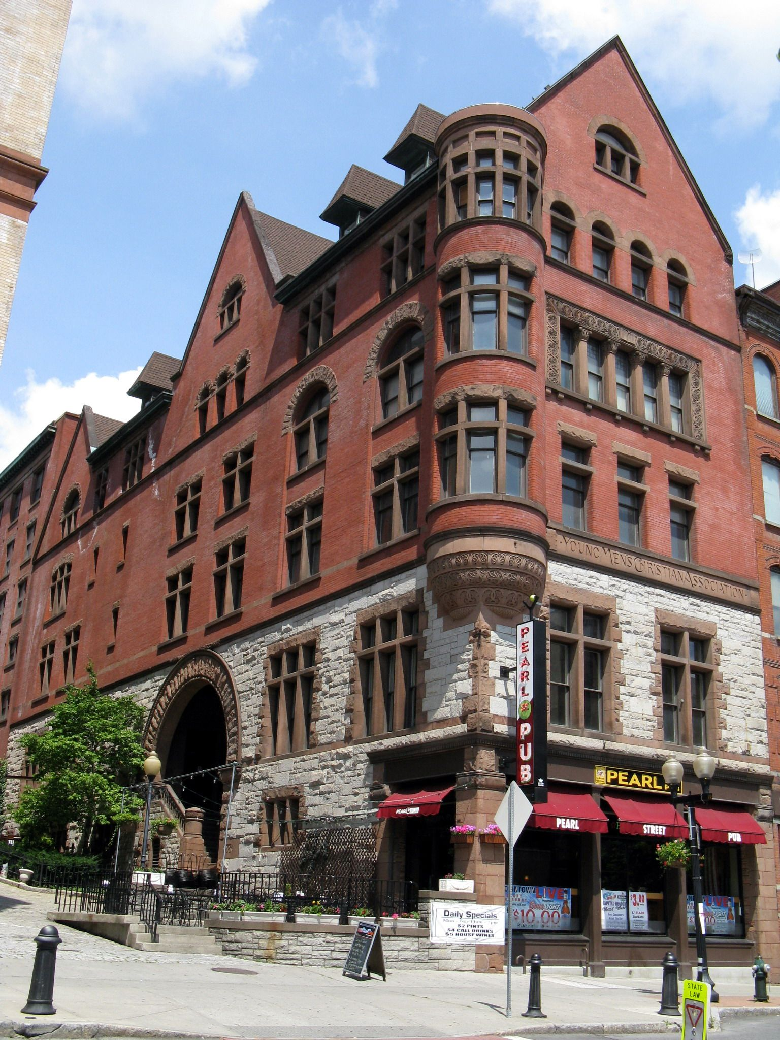 Y.M.C.A. Building - Albany, NY