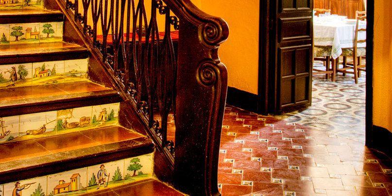 Casa Museo Abargues - BenissaDetalle de la escaleraContrahuella de