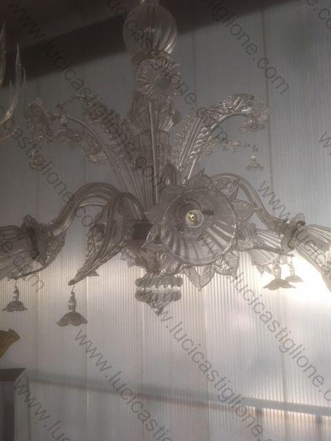 Lampadari Antichi Di Murano.Lampadari Antichi Restaurati In Vetro Di Murano Lampadari Antichi
