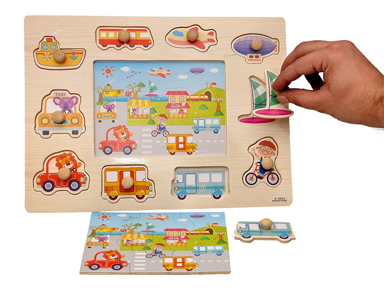 27 Wonderful Wooden Toys for 1 to 3 year olds - Safe, Non ...