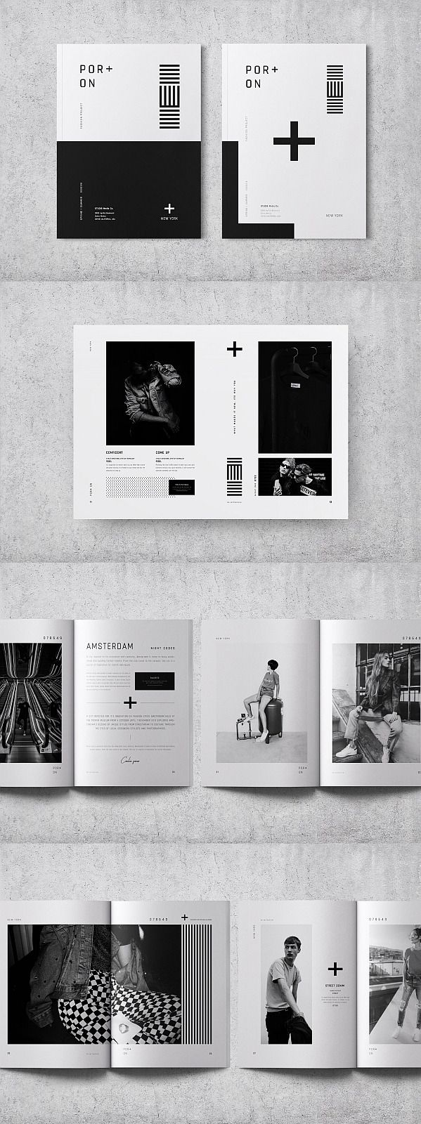 40+ Lookbook, Portfolio & Product Catalog Templates