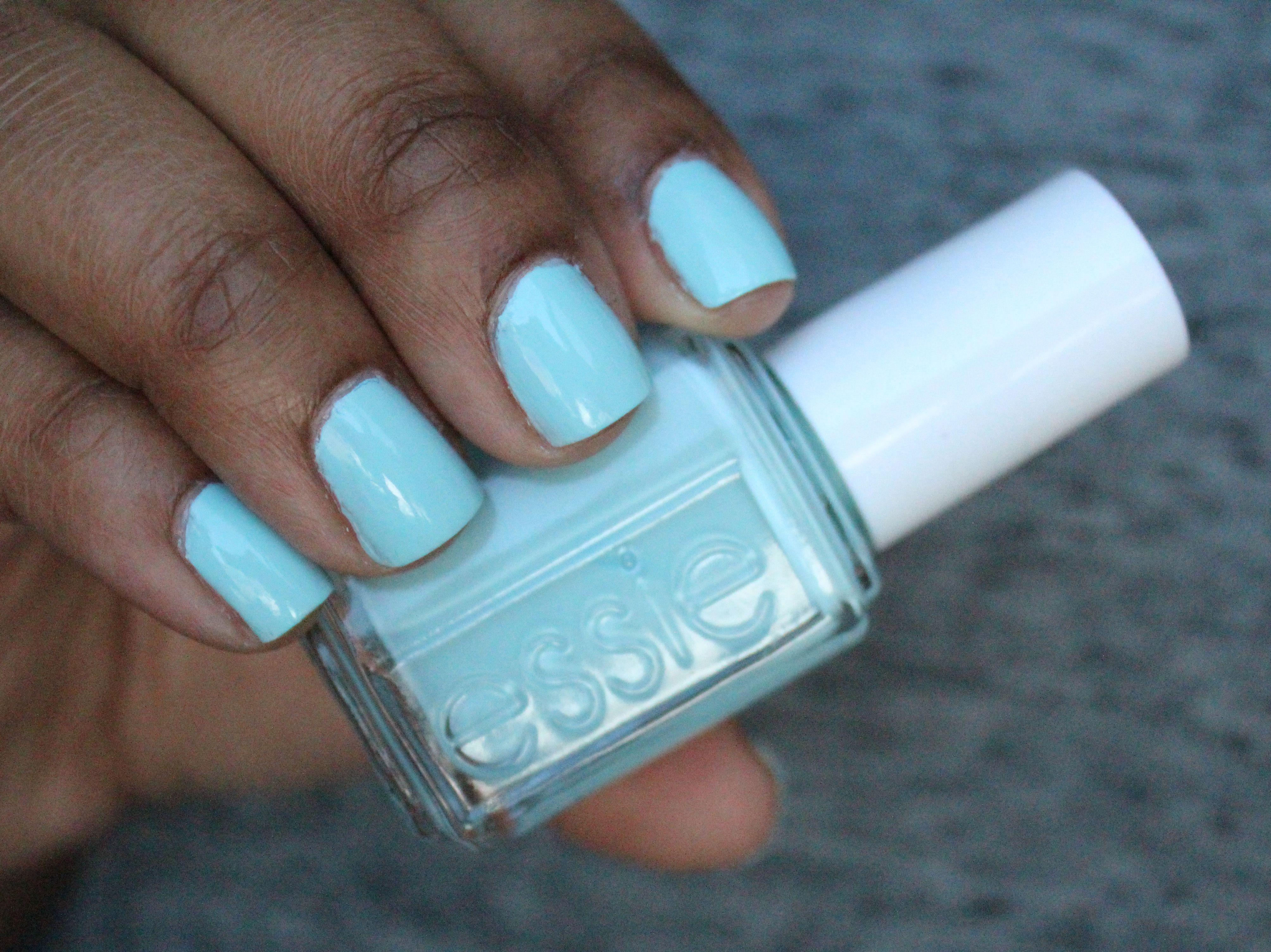 mint candy apple essie dark skin - Google Search | Favorite Nail ...