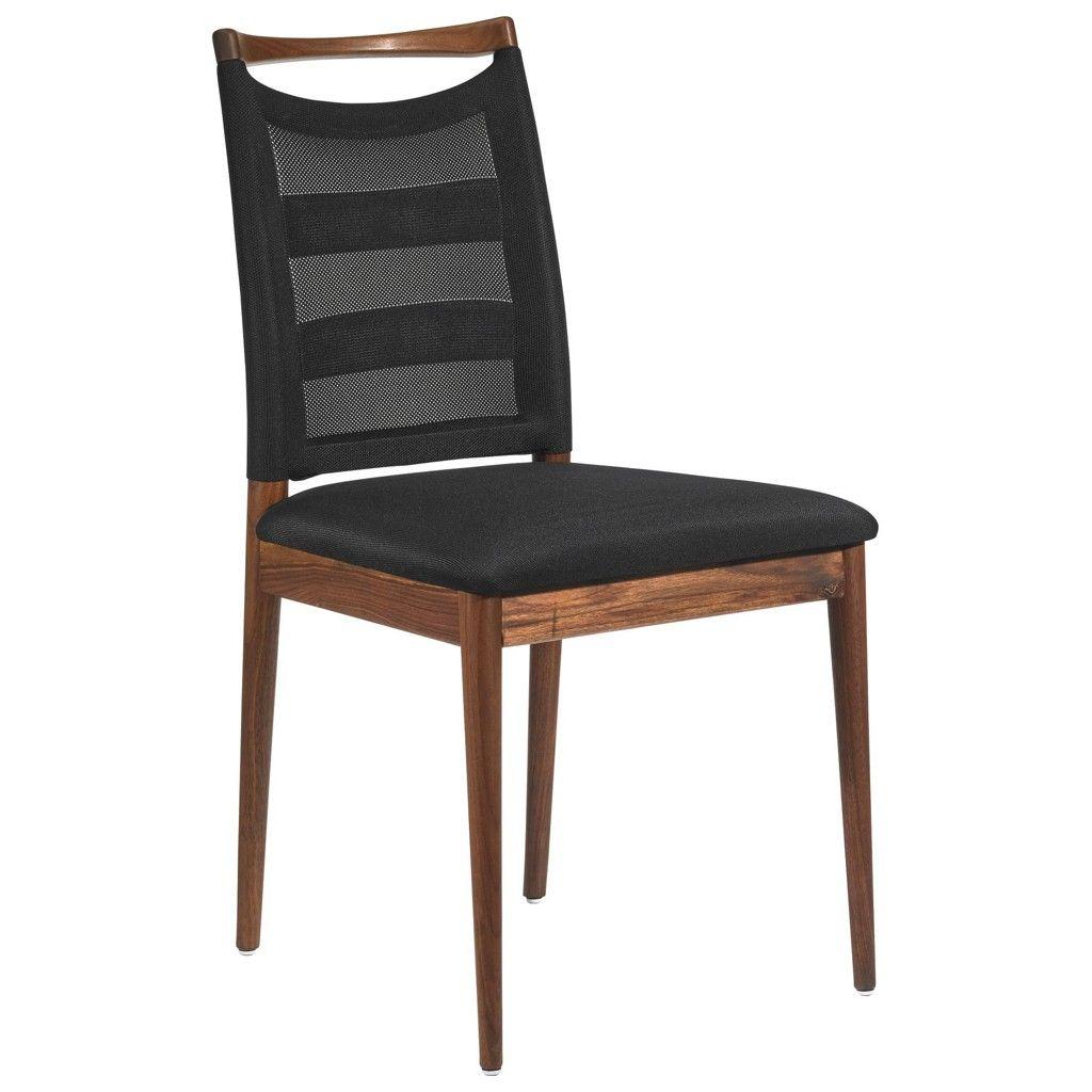 Stühle modern esszimmer schwarz  ESCANDO MODERN WO STUHL Nussbaum Schwarz Jetzt bestellen unter ...