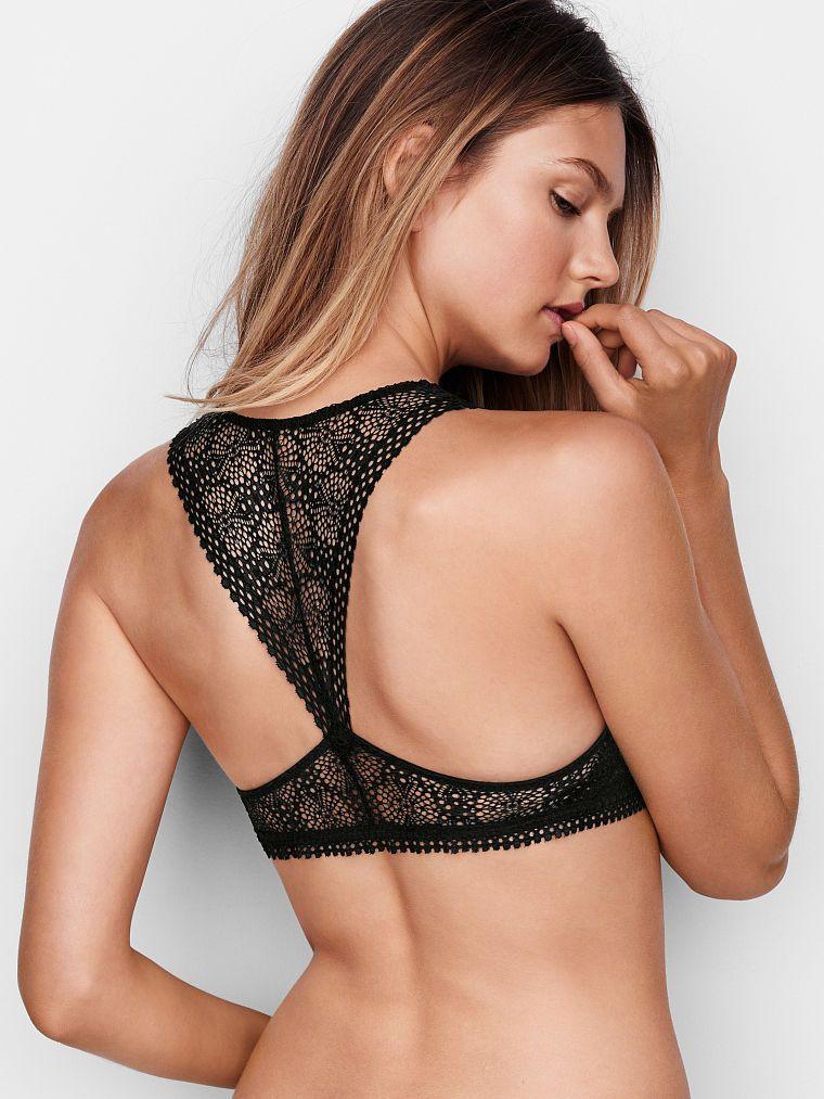 5fc2e04ec8f708 Lace Lightly Lined Racerback Bralette - The Victoria s Secret Bralette…