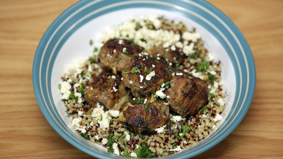Lemony meatballs with quinoa asian food channel chef recipes lemony meatballs with quinoa asian food channel forumfinder Gallery