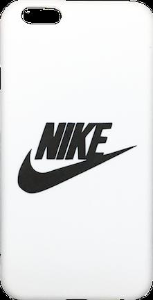 - Style: Swoosh Logo - Colorway: White/Black - Material: Hard Plastic - Model: iPhone 6/6s