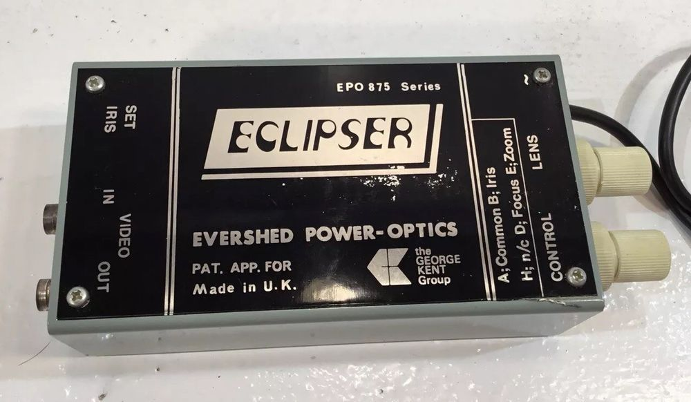 VERY RARE VINTAGE ECLIPSER BY EVERSHED POWER OPTICS VIDEO