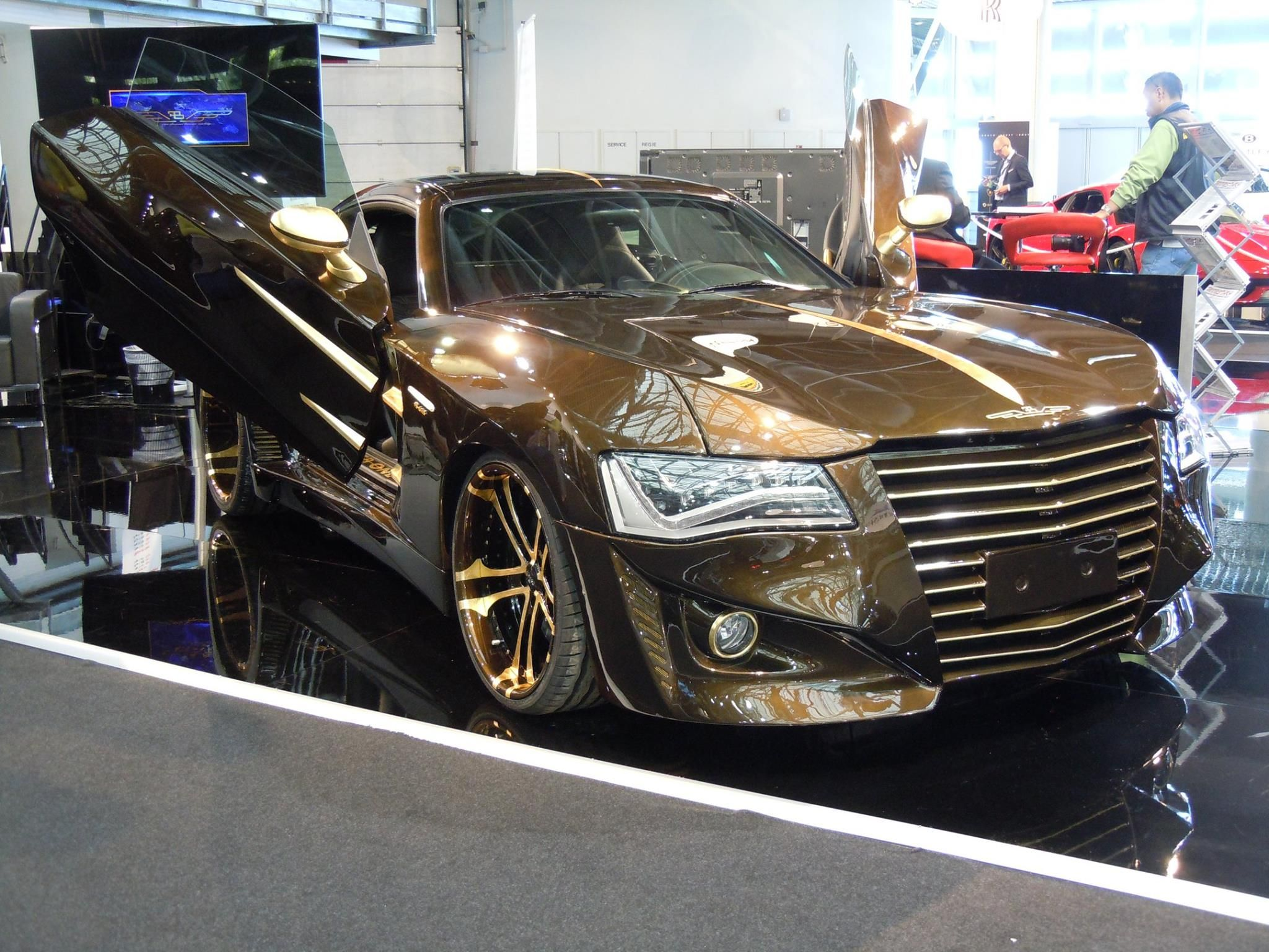 Chrysler Crossfire With Audi A8 Headlights With Images