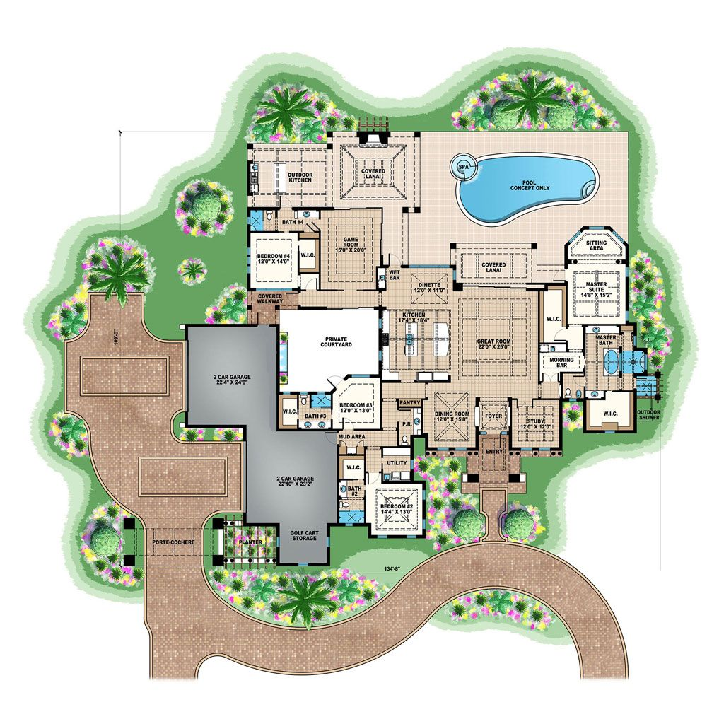175 1120 floor plan main level house plans pinterest for 1120 westchester place floor plan