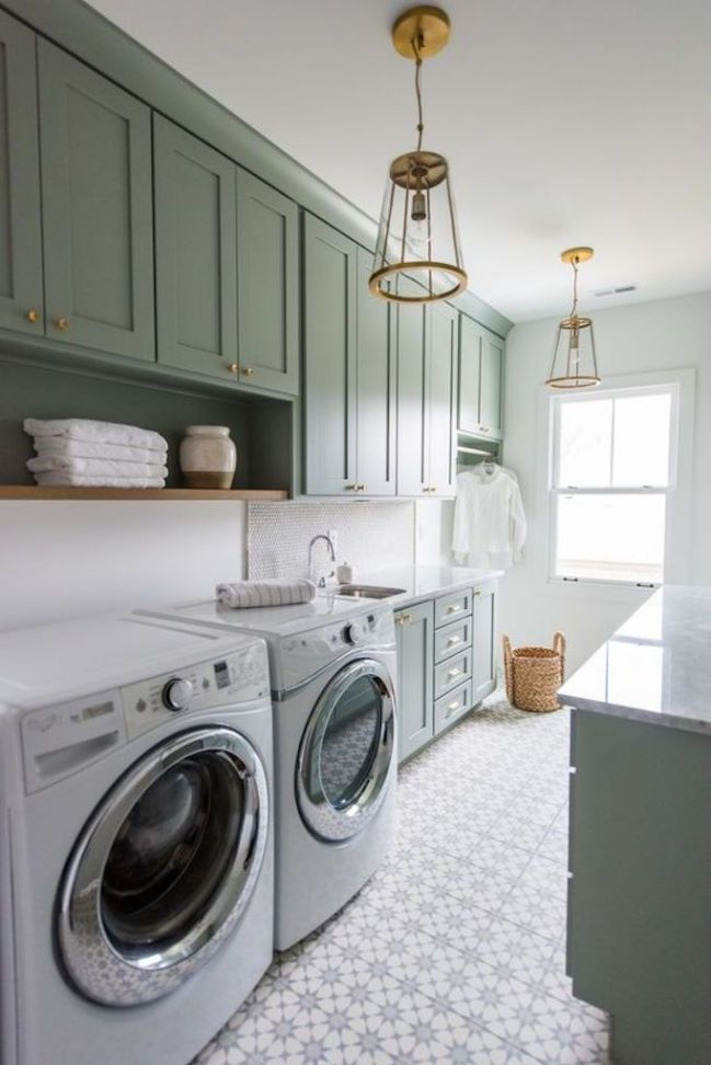 A Butler's Pantry/Laundry Room Combination & Maximizing a Small Space