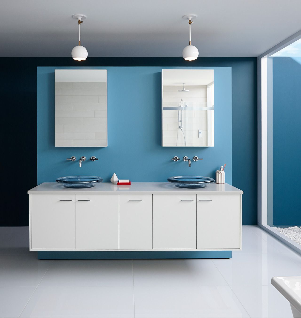 Bold Ideas From Kohler Bathroom Paint Colors Amazing Bathrooms Bathroom Paint Color Schemes