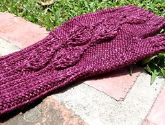 Ravelry: Autumn in the Ozarks pattern by Amy H. Aymond Free pattern, size 5 needles, 200-250 yds.