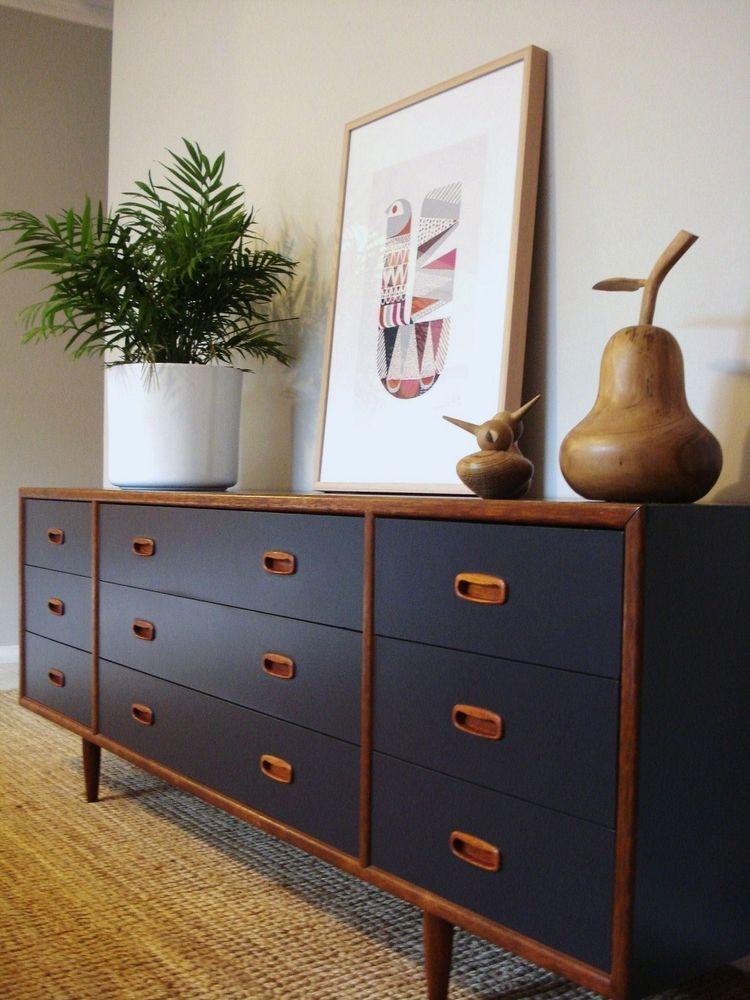 Vintage Desk Makeover Painted Furniture