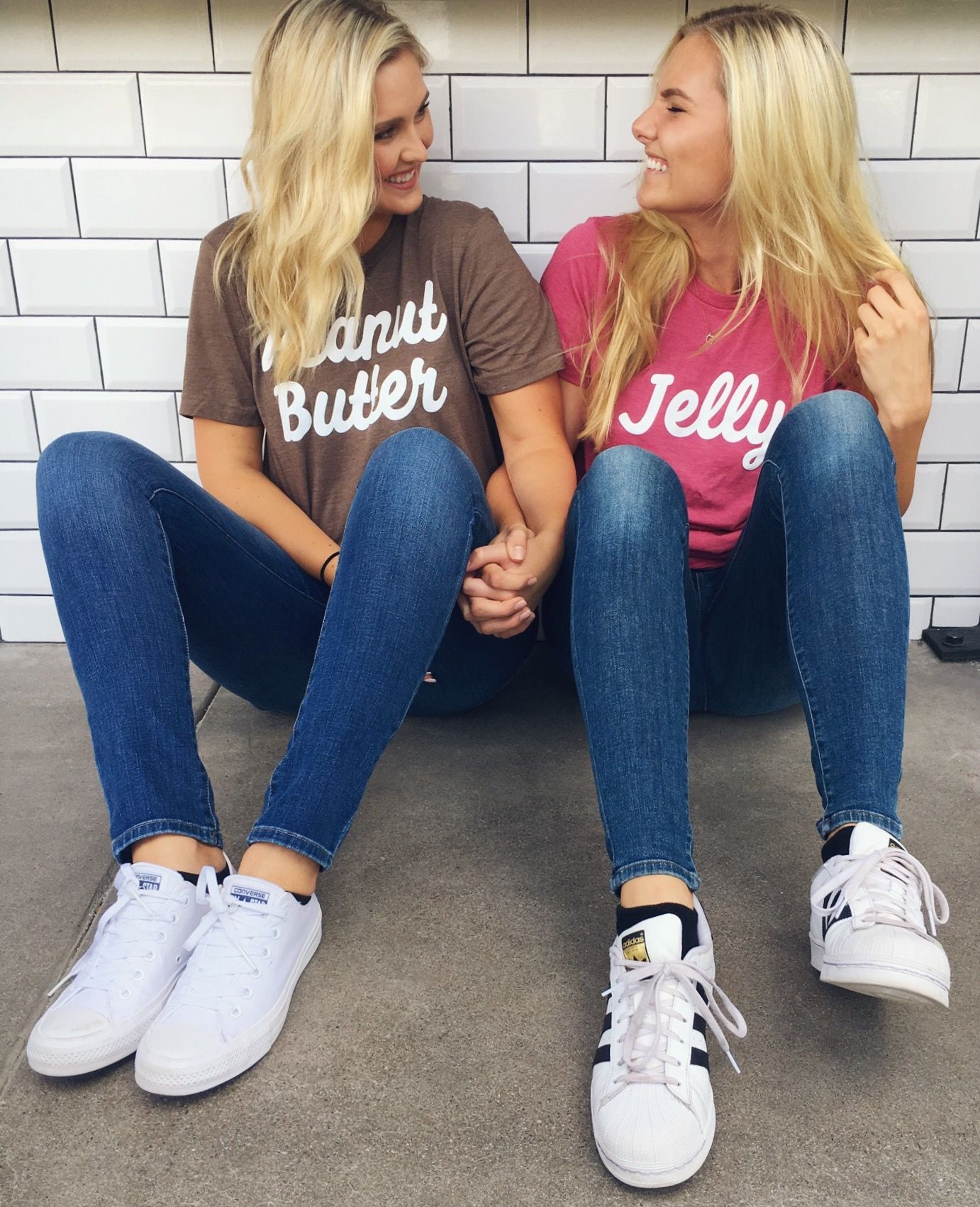 Peanut Butter & Jelly BFF Tees