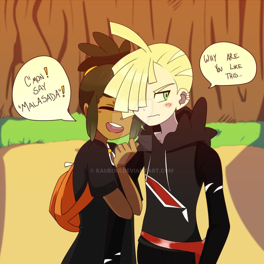 Haircut styles in pokemon sun and moon gladion and hau  cutebonesshipping  pinterest  pokémon pokemon